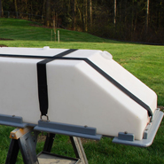Starboard water tanks - outboard